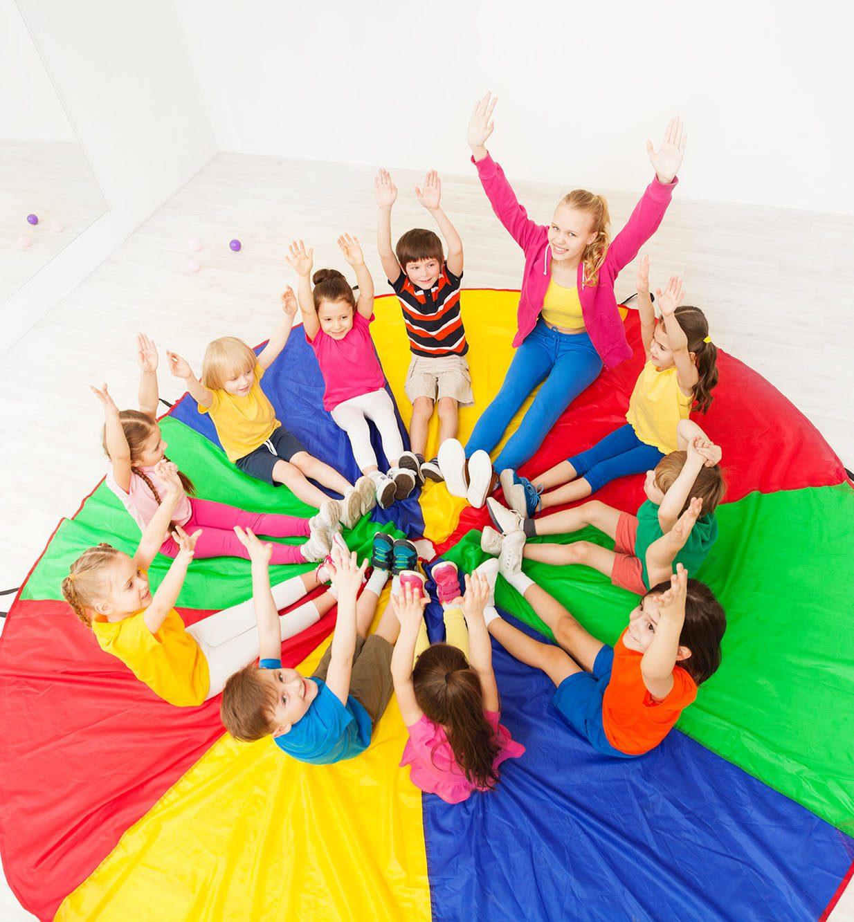 parachute playground